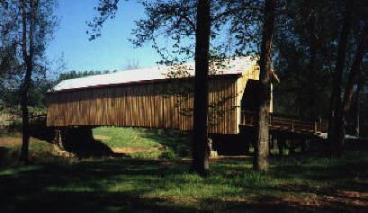 Auchumpkee Creek Covered Bridge 1998 photo by Barbara Anne Helms Raines